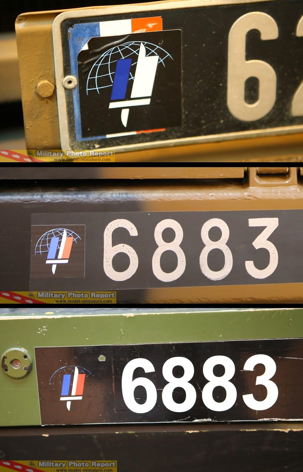military photo report plaques d 39 immatriculation logo en vinyle pour v hicules de l 39 arm e. Black Bedroom Furniture Sets. Home Design Ideas