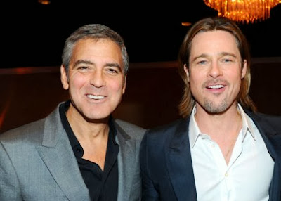 Pitt y Clooney en la obra de teatro gay Prop. 8