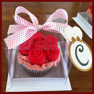 Confeitaria + PARADOXUS! Flowers Cupcakes!!!