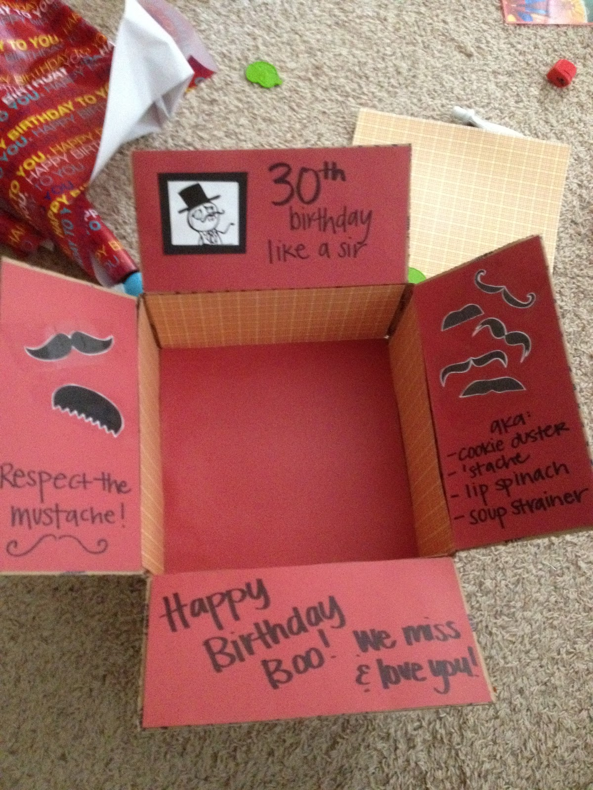 Care Package Games 30th Birthday