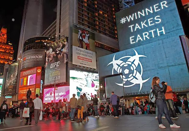 satanic symbols new york times square