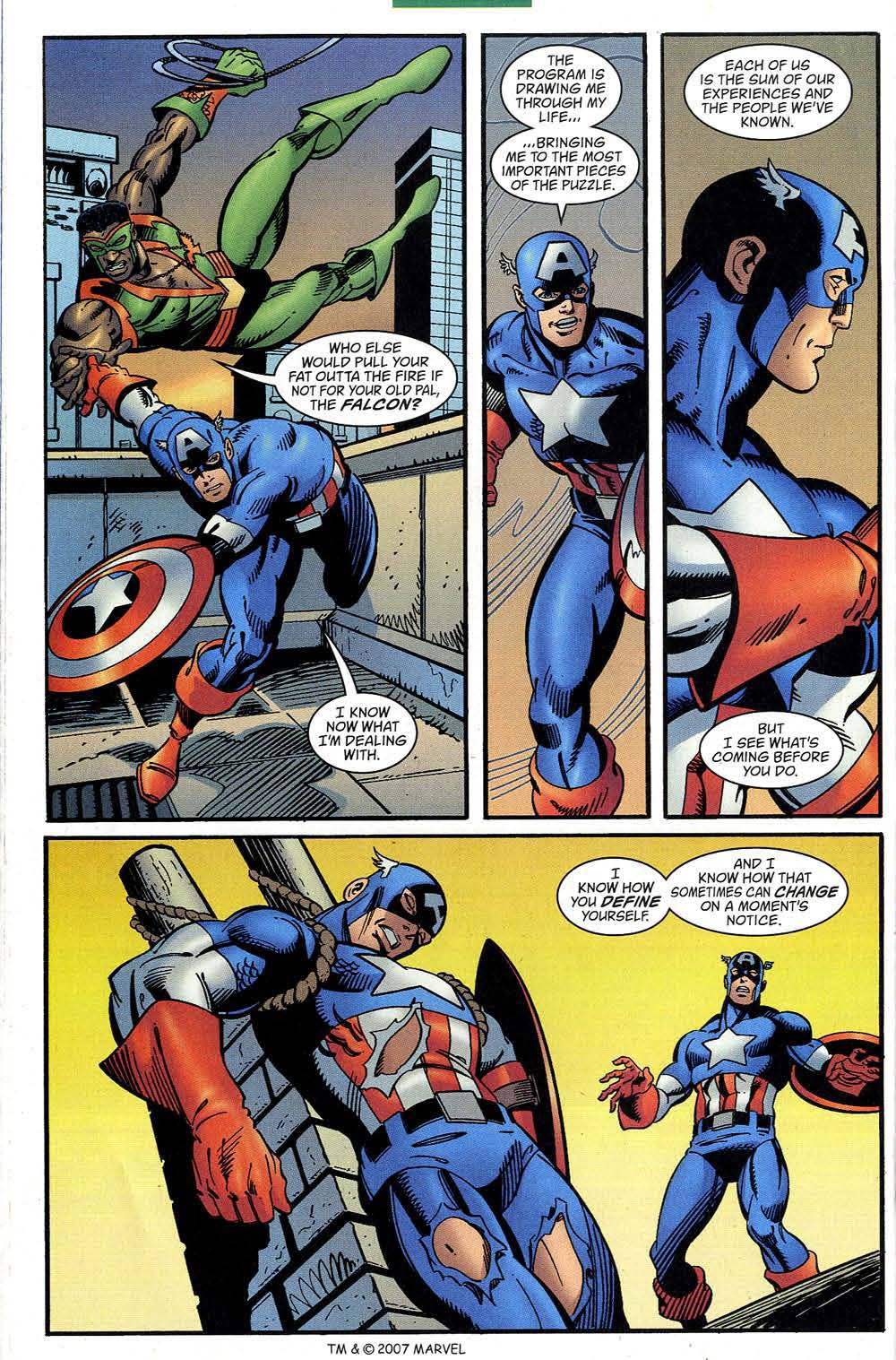 Captain America (1998) Issue #50 #57 - English 56