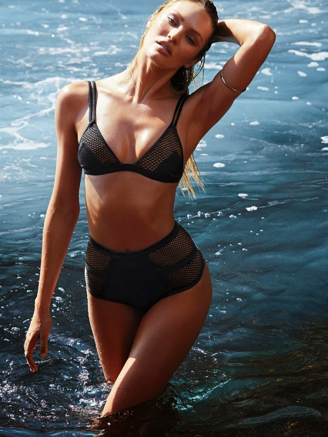Candice Swanepoel – Victoria's Secret Swim Photoshoot