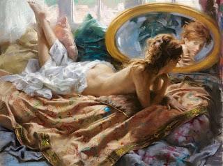 Desnudos Mujeres A Pastel Cuadros