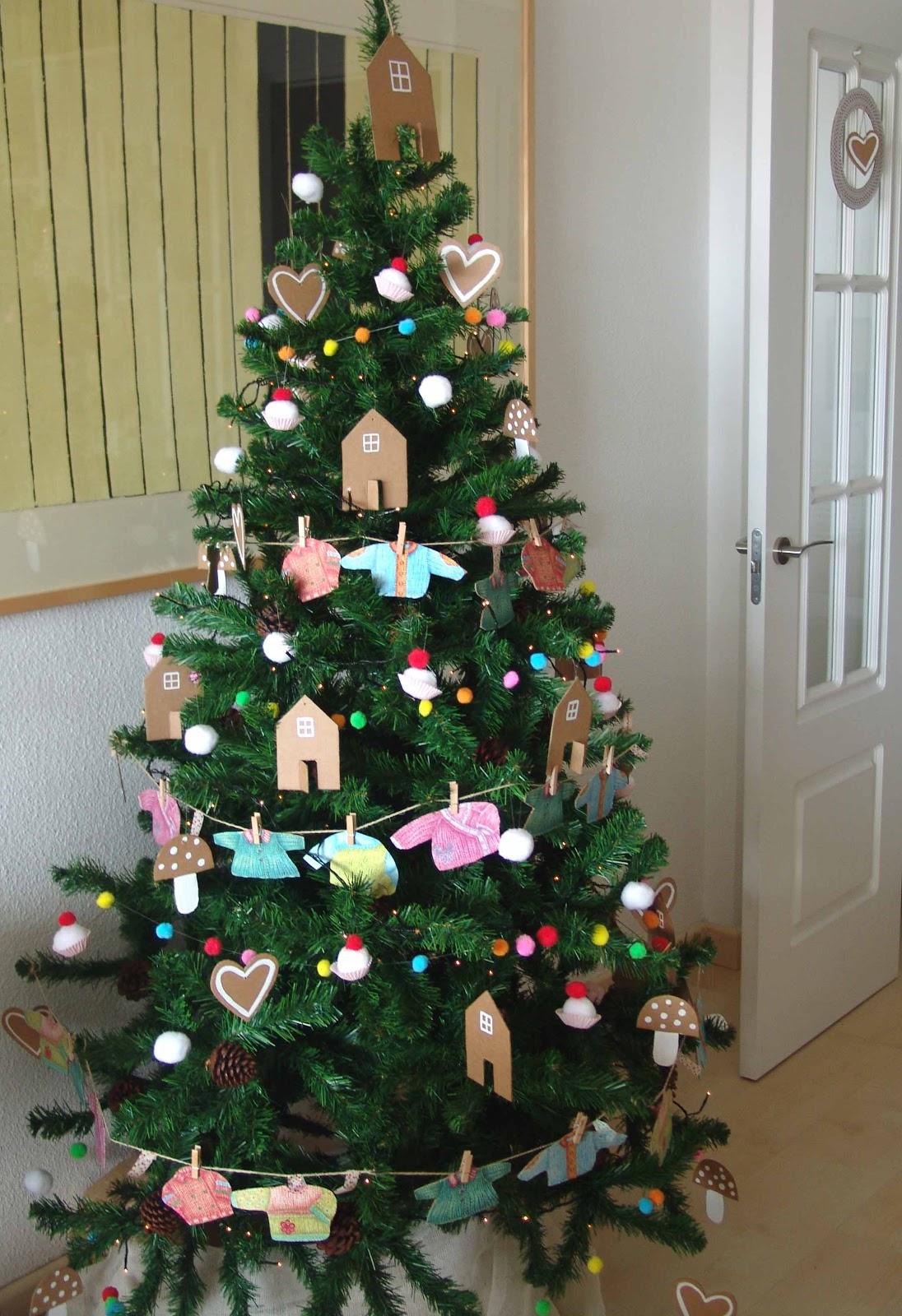 Lalibelula adornos para el arbol de navidad hechos a mano - Arbol navidad adornos ...