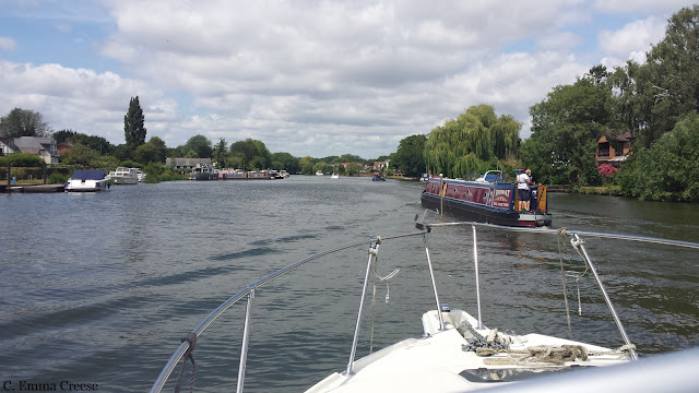Things to do in Windsor: take a boat ride along the Thames River