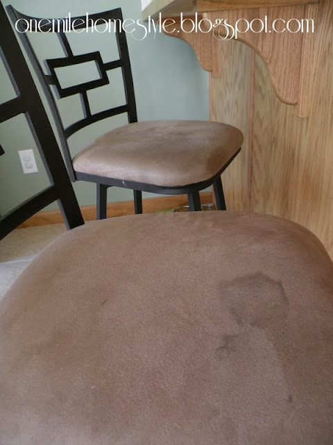 Bar stools - before