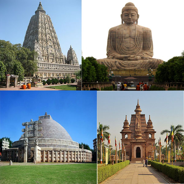 Erco travels india india 39 s prime buddhist places of worship for Religious buildings in india