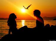 Szerelem-Naplemente