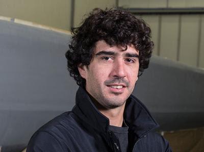Jules Delpech, jeune préparateur de l'IMOCA Safran.