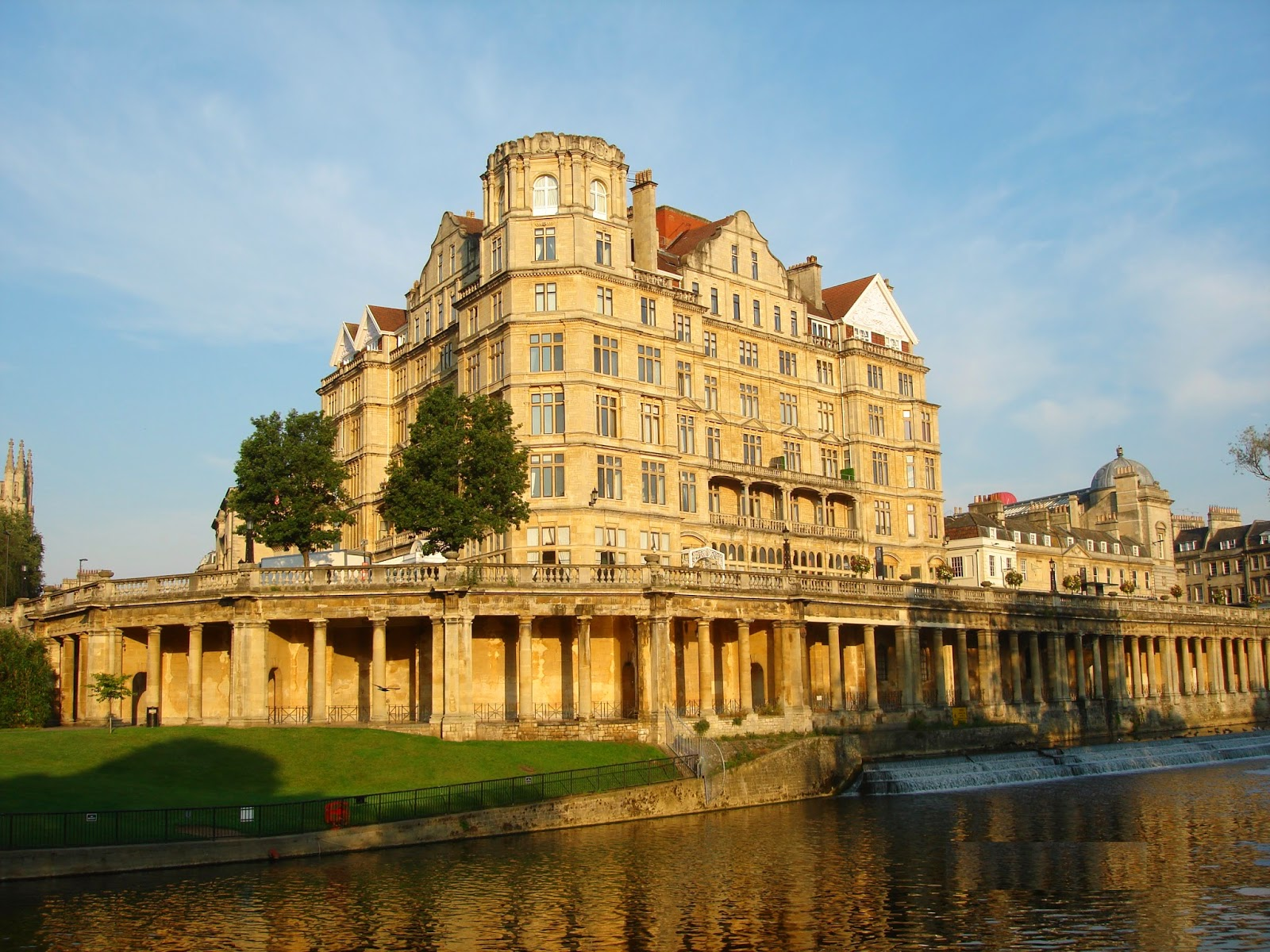 Empire Hotel, River Avon, Bath, England