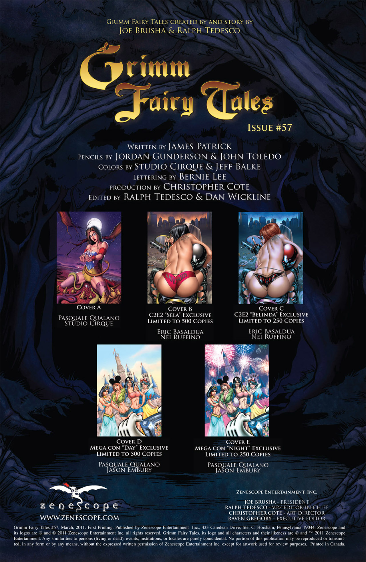 Grimm Fairy Tales (2005) Issue #57 #60 - English 2