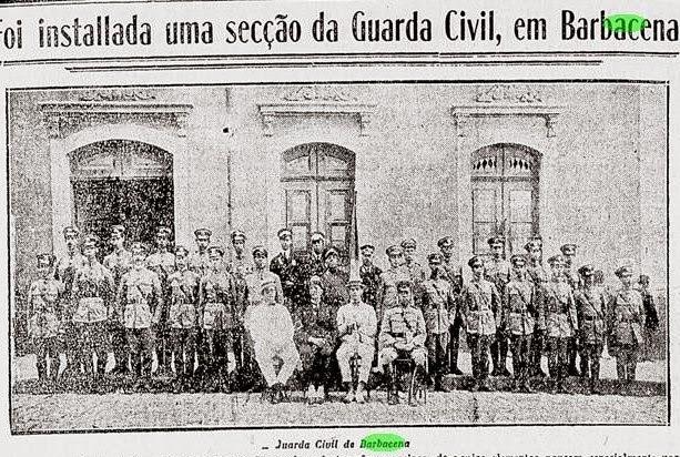 INSTALAÇÃO DA GUARDA CIVIL EM BARBACENA