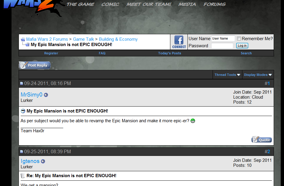 zynga forum