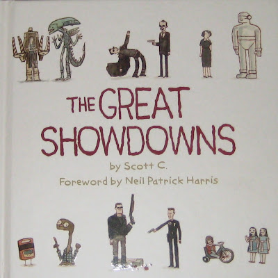 The Great Showdowns Hardback Book by Scott Campbell