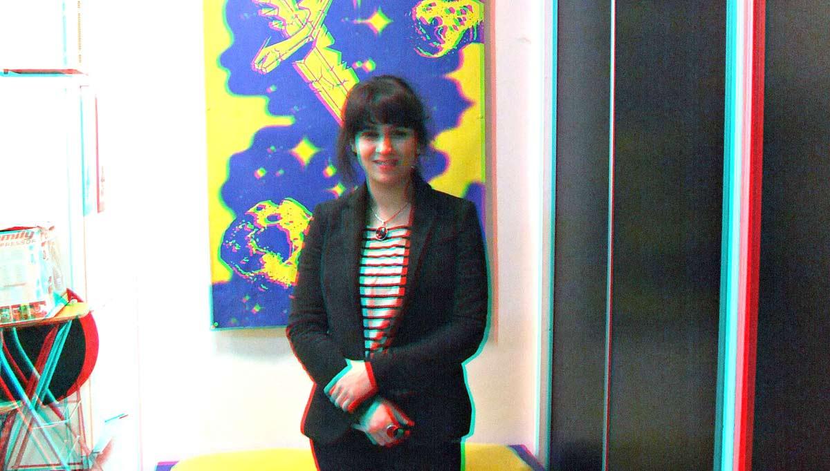 Laura Cahen en 3D