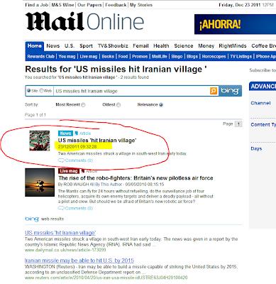 captura pantalla mail online misiles iran abadan 2011