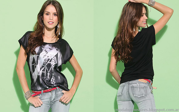 Moda pantalones de jeans 2014 Taverniti.
