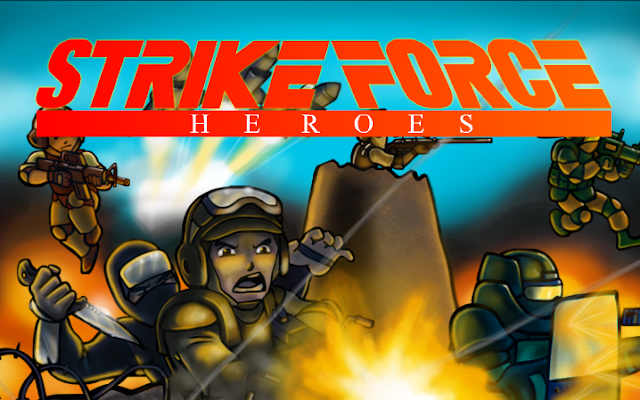 Strike force heroes as you might have heard strike force heroes 2 came
