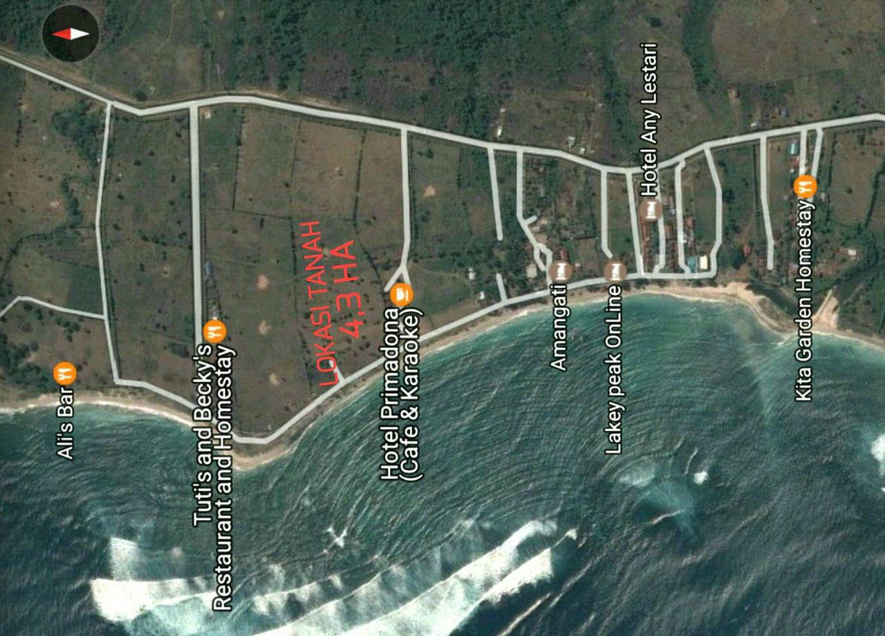 BEACHFRONT LAND - LAKEY BEACH NTB,
