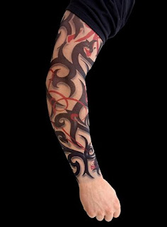Tribal Sleeve Tattoo Design Photo Gallery - Tribal Sleeve Tattoo Ideas