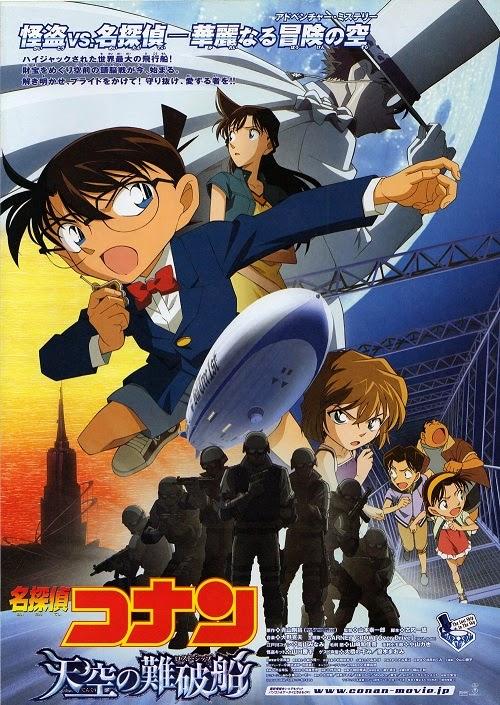 Phim Phiêu Lưu - Hành Động Thám Tử Lừng Danh Conan 14: Con Tàu Ma - Conan Movie 14: The Lost Ship In The Sky - 2010