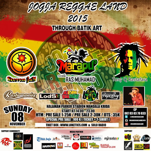 Event : Jogja Reggae Land #1
