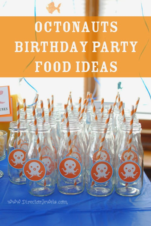 Octonauts Birthday Party Food Ideas | Under the Sea Party at directorjewels.com