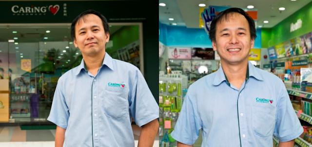 Caring Pharmacy Marketing Director, Mr Loo