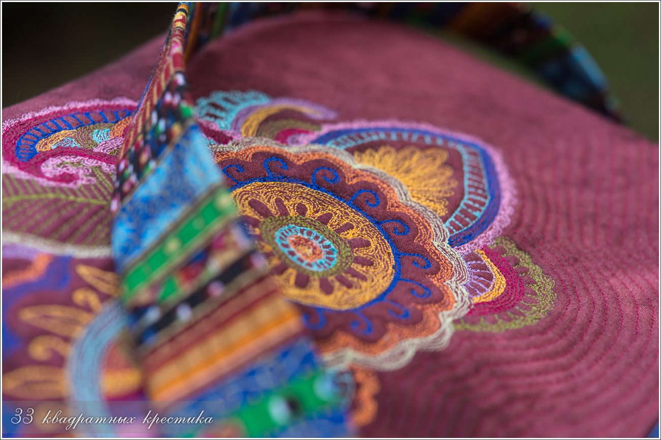 Объемная вышивка индии 66