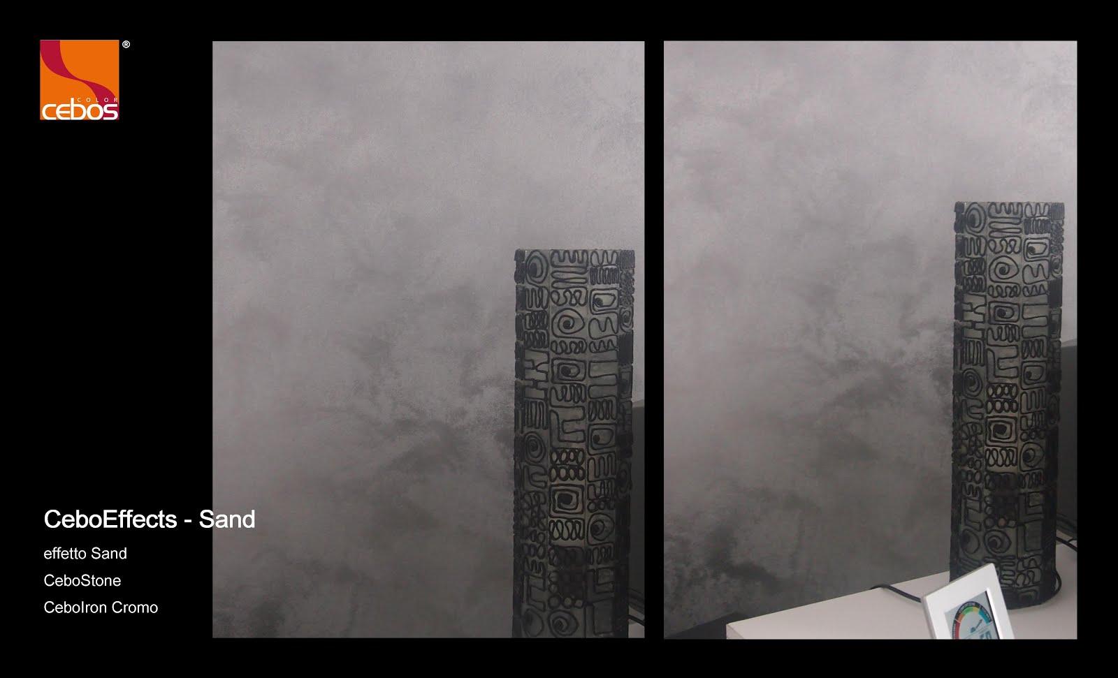 Scalia Forniture : Iron Effects SAND RAIN CEBOS decorativi unici