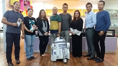 Bengkel VEX Roboticist di The School