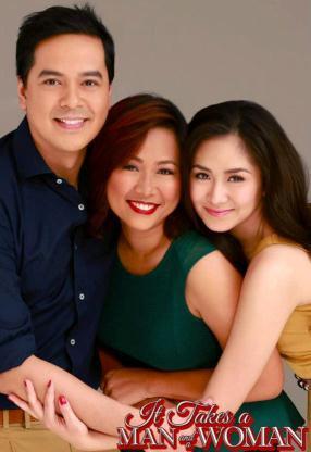 Sarah and John Lloyd with Direk Cathy Garcia-Molina