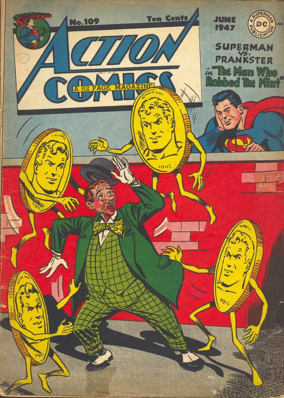 Action Comics (1938) 109 Page 1