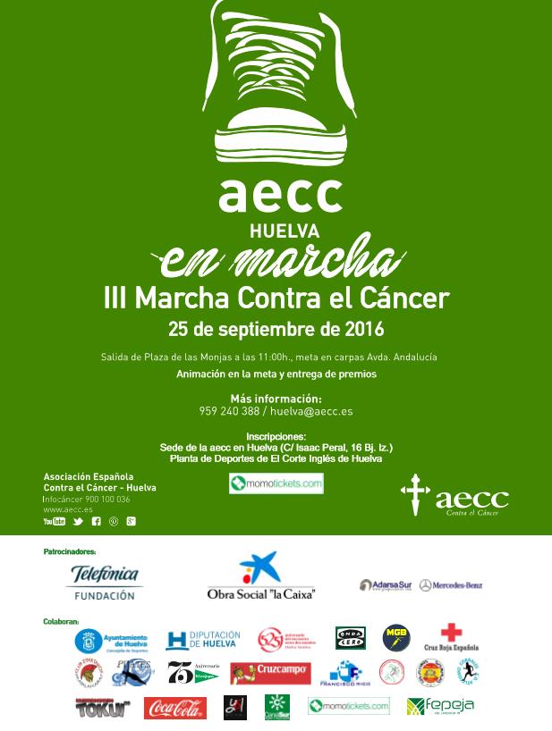 MARCHA CONTRA EL CANCER