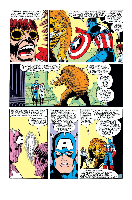 Captain America (1968) Issue #308 #236 - English 19