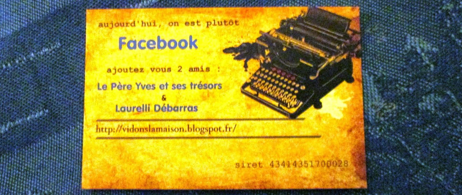 Un Biffin sur Facebook !