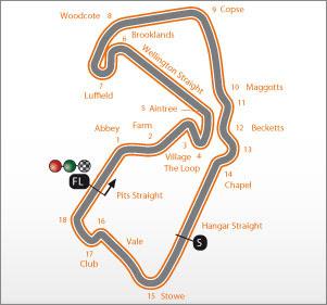 Gambar Sirkuit Moto GP Silverstone Wing