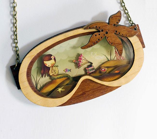 Collar La Sirenita
