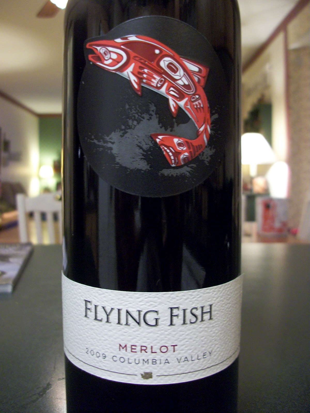 Ashley 39 s wine blog tasting flying fish merlot for Wine with fish