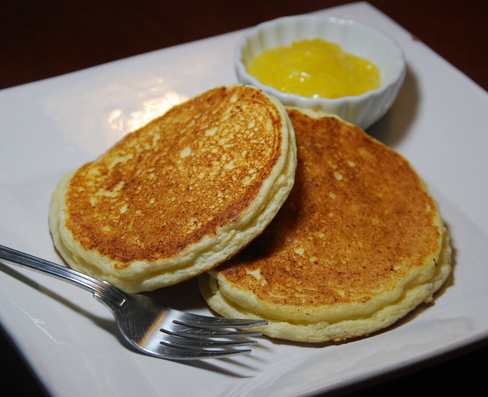... Kitchen with Monica: Fluffy Ricotta Pancakes with Homemade Lemon Curd