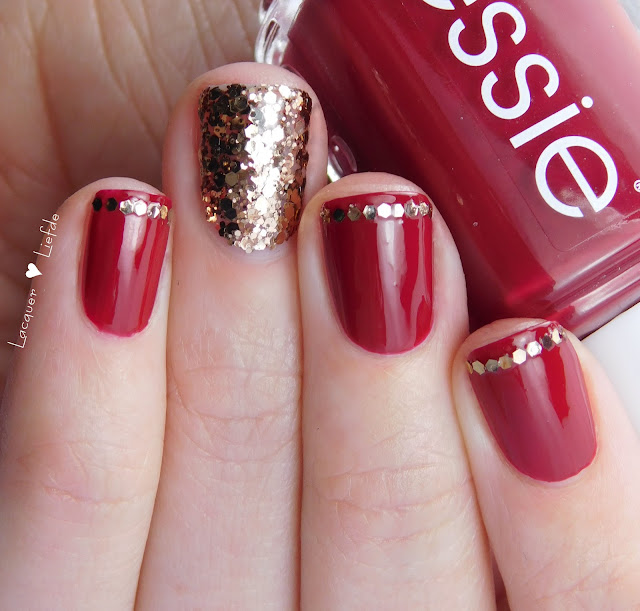 Last Minute Silvester Nails