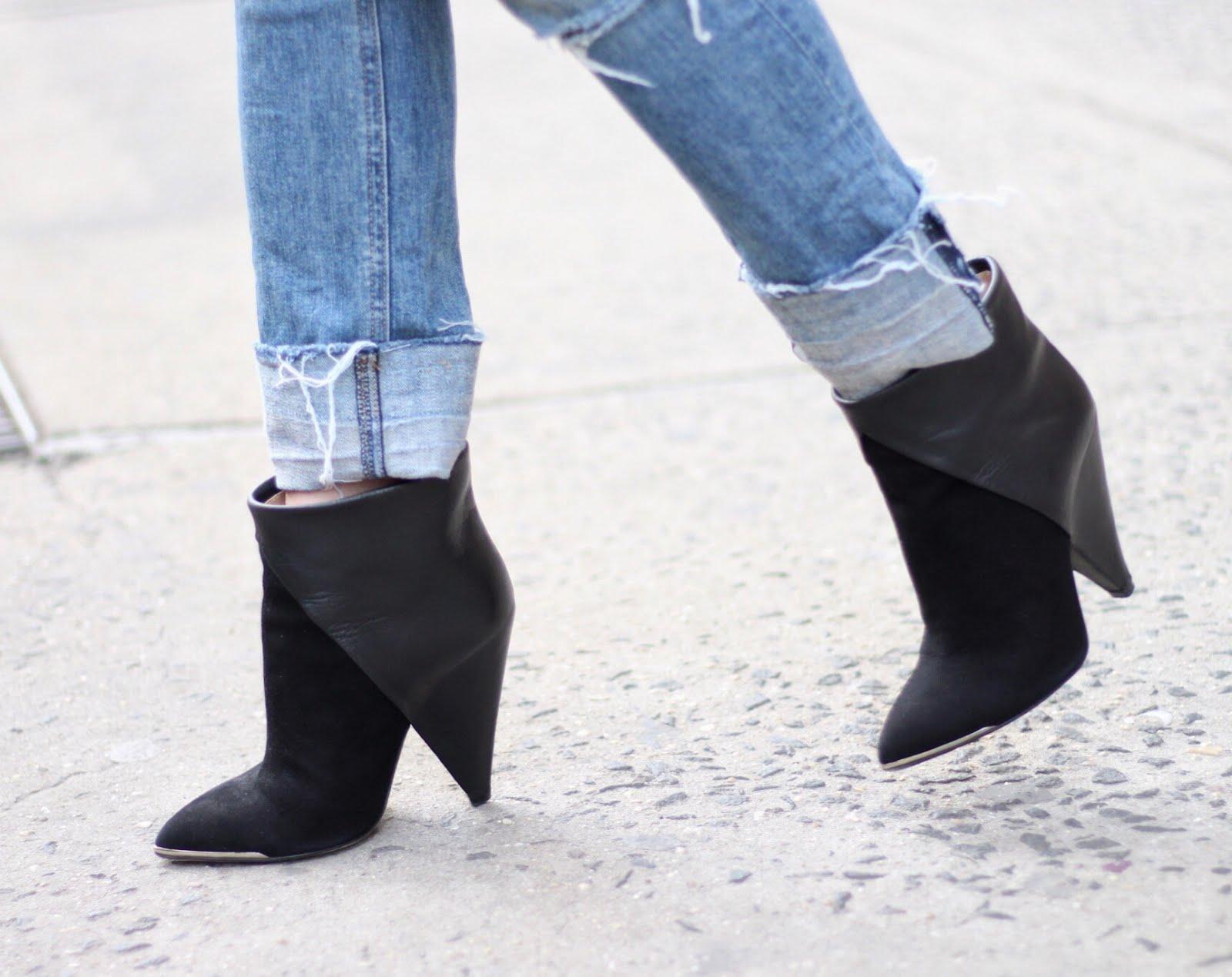 IRO black booties