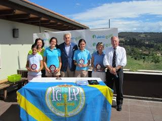 Campeonato Asturias femenino Pitch & Putt 2012