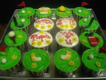 Cup Cake - Theme Golf