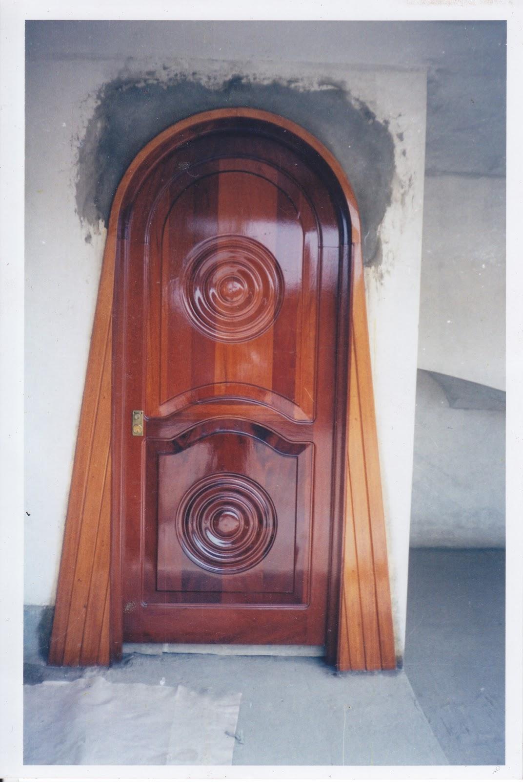 Puertas de madera puertas madera - Puerta de exterior de madera ...