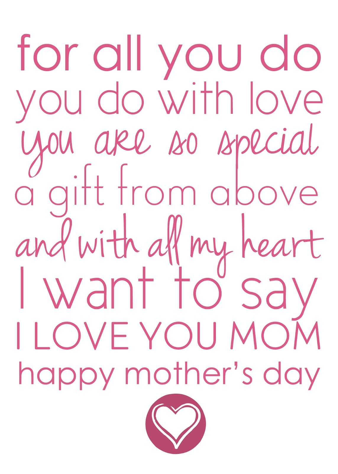 good mothers day quotes rhyming quotesgram
