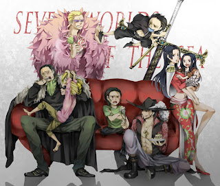 One Piece Shichibukai Seven Warlords Doflaminog Crocodile Dracule Mihawk Boa Hancock Anime Sword Babies HD Wallpaper Desktop Background