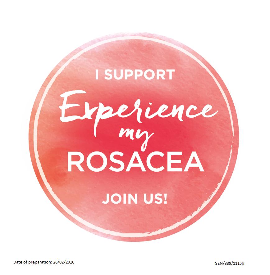 #ExperienceMyRosacea