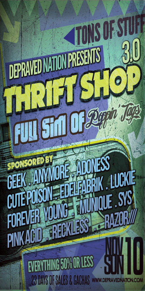 The Thrift Shop Round 3!